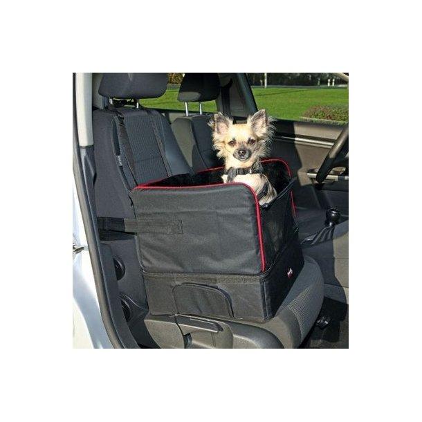 Autosæde til små hunde