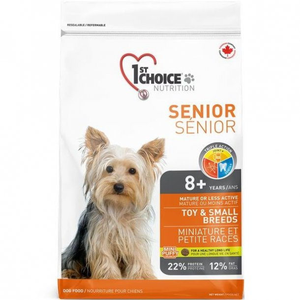 1stChoice senior toy/small breed