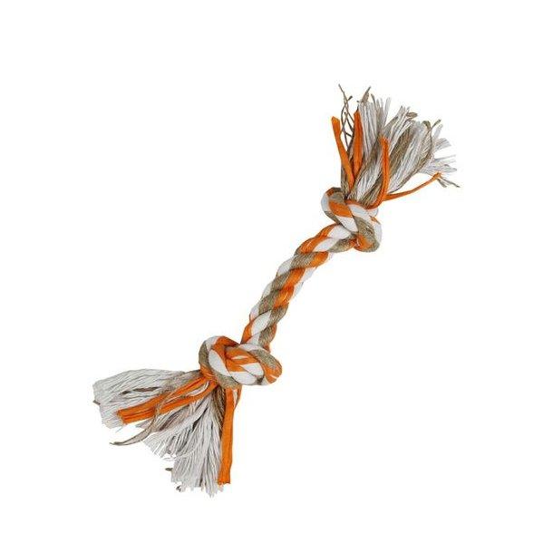 Knudereb med 2 knuder orange 29cm