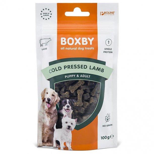 Boxby cold pressed lamb 100g