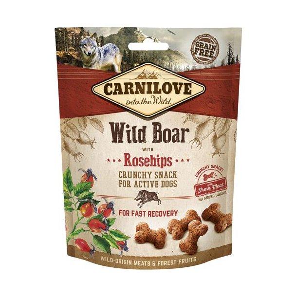 Carnilove Crunchy Snack Vildsvin og Hyben 200g