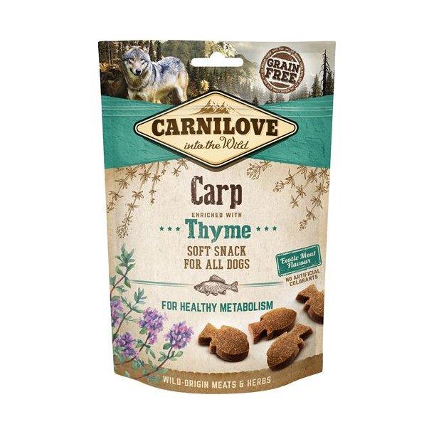 Carnilove Bløde Snack Karpe og Timian 200g