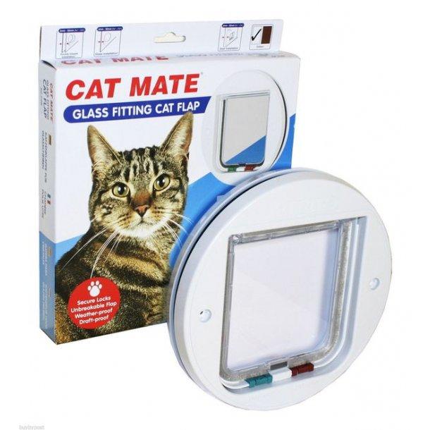 Cat Mate kattelem 4vejs til glas