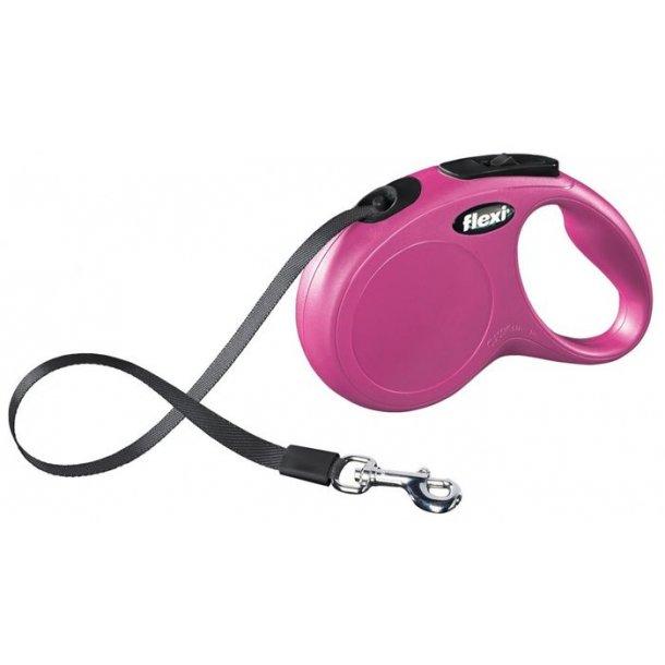 Flexi New Classic bånd pink