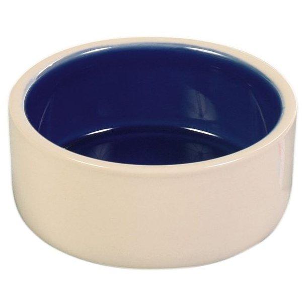 Keramikskål blå/creme