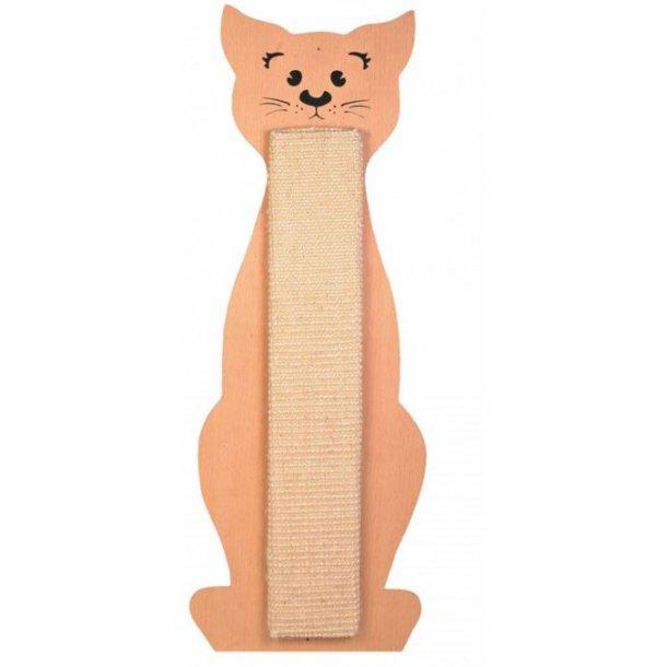 Kradsebræt med kat til væg 58cm