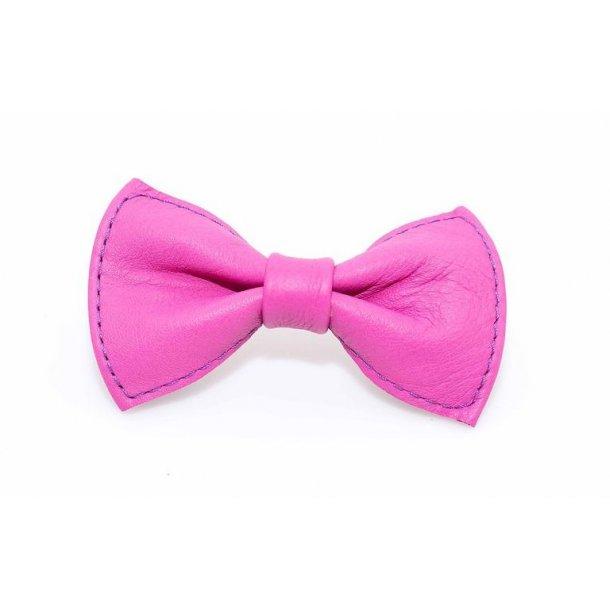 Timely læder butterfly pink 8cm