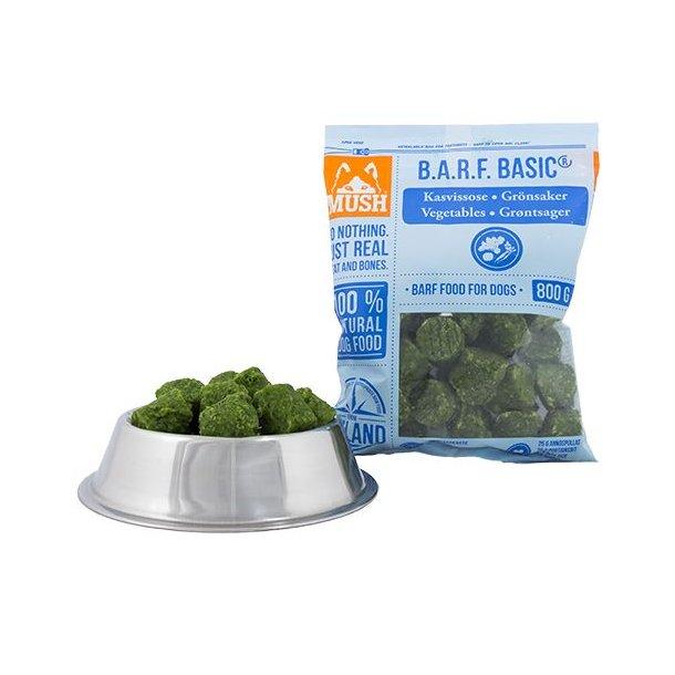 MUSH Basic® Grøntsager 800g