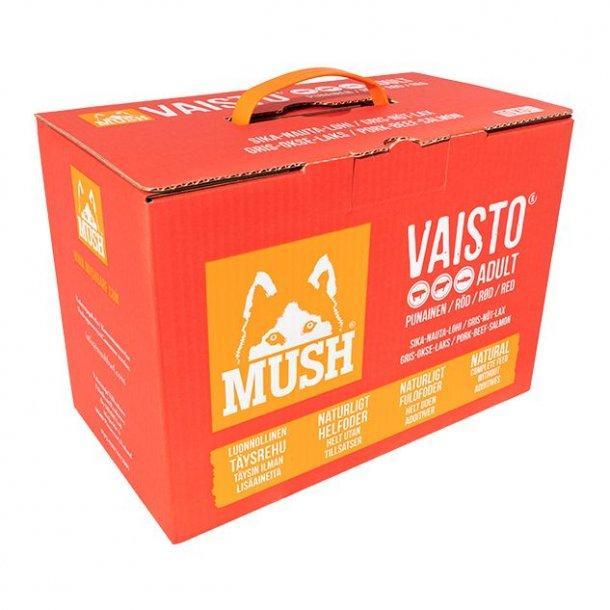 MUSH Vaisto® Gris, Okse, Laks 10kg