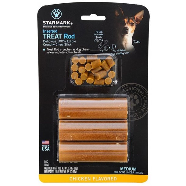 Starmark Treat Rod 3-pak Medium