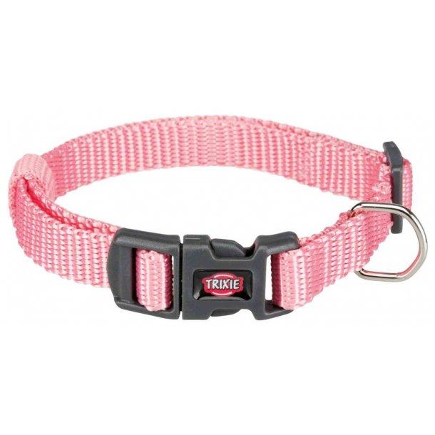 Premium halsbånd lyserødt