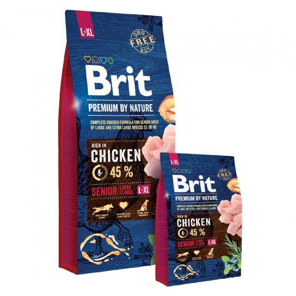 Brit Premium By Nature Senior Large/XLarge