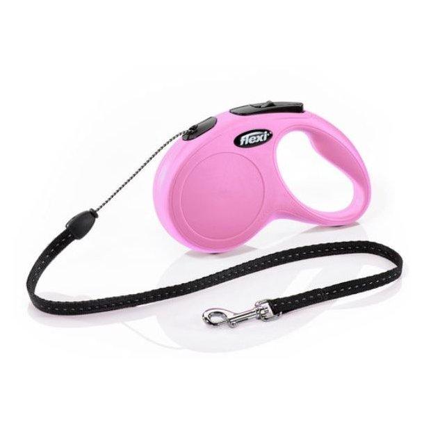 Flexi new classic snor pink