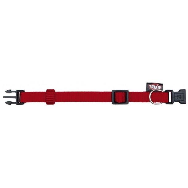 Premium halsbånd rødt XS-S