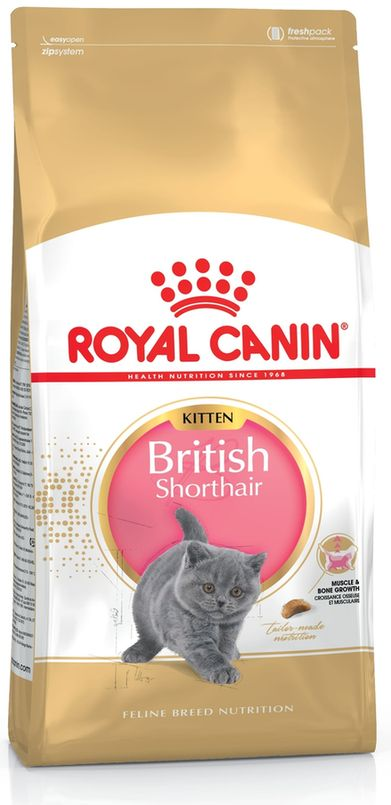 royal canin british shorthair kitten 2kg royal canin racefoder kat dyrene p torvet. Black Bedroom Furniture Sets. Home Design Ideas